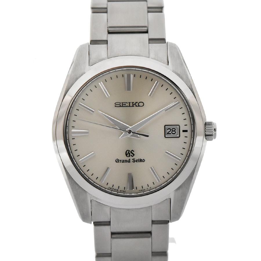 【キャッシュレス5%還元】【中古】セイコー グランドセイコー メンズ 腕時計 クオーツ ステンレススチール シルバー文字盤 SBGX063 9F62-0AB0 SEIKO[送料無料]
