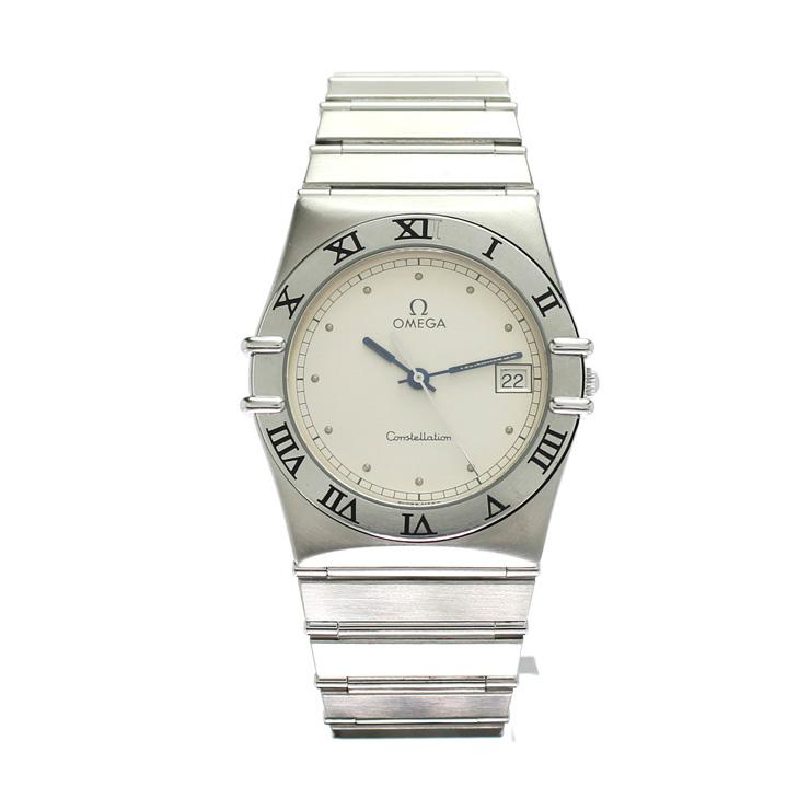 OMEGA オメガ コンステレーション SS メンズ腕時計 396.1070 クオーツ ホワイト文字盤【中古】【送料無料】