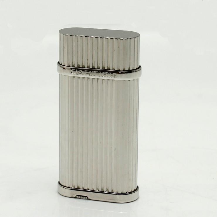 カルティエ ライター ゴドロン CA120115 Cartier シルバー ガスライター【中古】【送料無料】