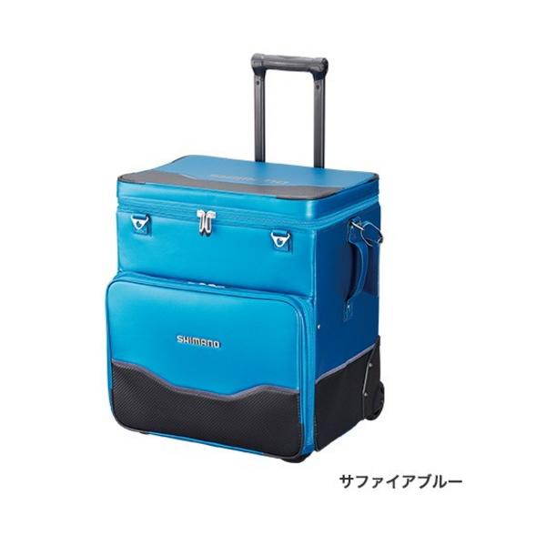 ≪'19年3月新商品!≫ シマノ へらキャリーバッグXT BA-011S サファイアブルー [3月発売予定/ご予約受付中]