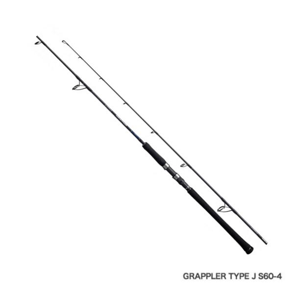 ≪'19年1月新商品!≫ シマノ '19 グラップラー タイプJ S60-4 〔仕舞寸法 130.2cm〕 【保証書付】