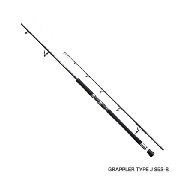 ≪'19年1月新商品!≫ シマノ '19 グラップラー タイプJ S56-7 〔仕舞寸法 111.5cm〕 【保証書付】