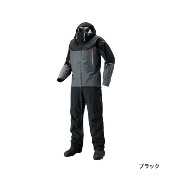 ≪'19年3月新商品!≫ シマノ DSアドバンススーツ RA-025S ブラック Mサイズ