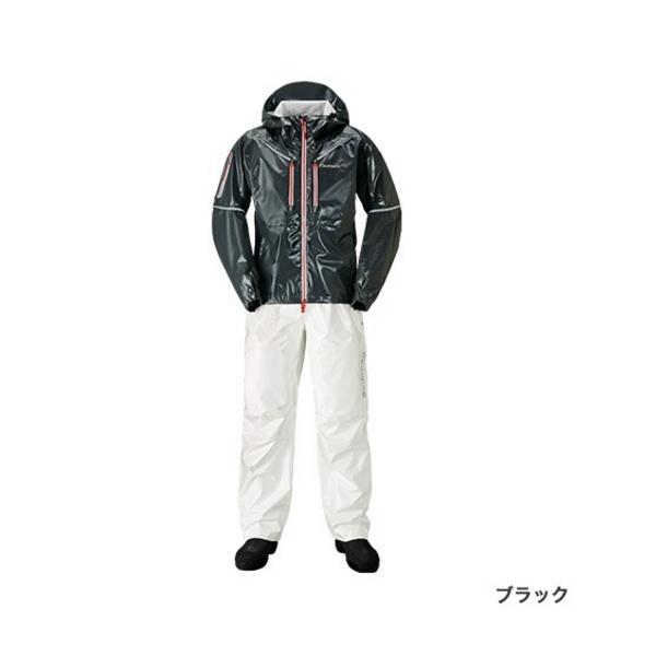 ≪'19年4月新商品!≫ シマノ SS・3Dマリンスーツ RA-033R ブラック 2XLサイズ