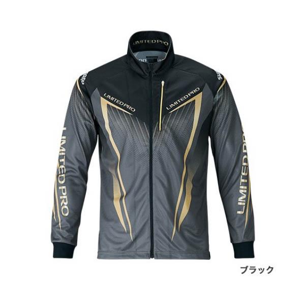 ≪'19年3月新商品!≫ シマノ フルジップシャツ リミテッド プロ(長袖) SH-011S ブラック Lサイズ