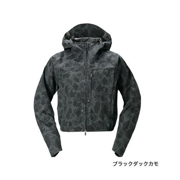 ≪'20年3月新商品!≫ シマノ DSショートレイン RA-02ST ブラックダックカモ XLサイズ