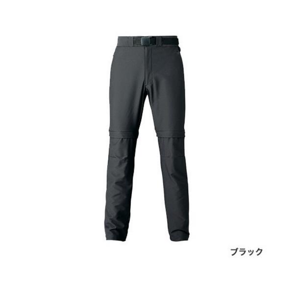 ≪'20年3月新商品!≫ シマノ SSデタッチャブルパンツ WP-044T ブラック 4XLサイズ