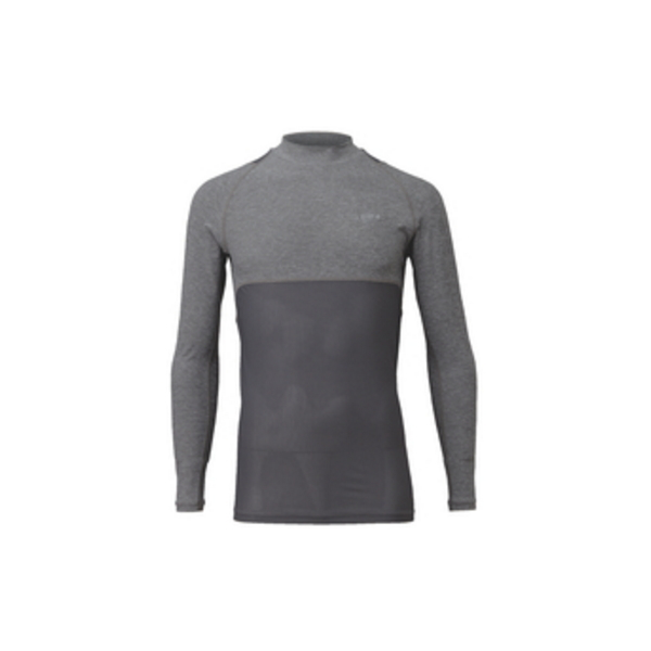 ≪'18年4月新商品!≫ ハヤブサ BOWBUWN レイヤードアンダーシャツ Y1439 杢グレー(94) Mサイズ