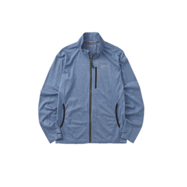 ≪'19年4月新商品!≫ ハヤブサ BOWBUWN ジップアップジャケット Y1440 ブルー(70) Sサイズ