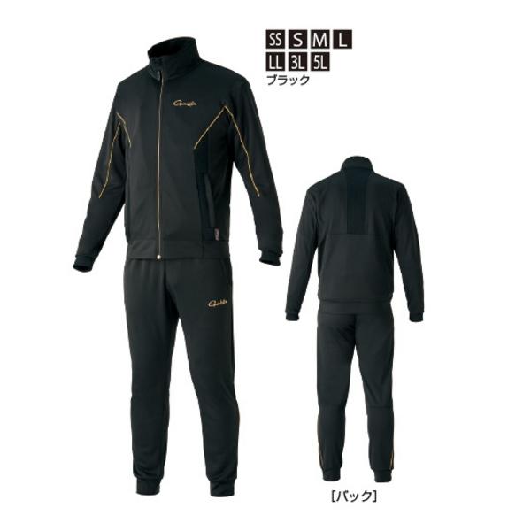 ≪'20年2月新商品!≫ がまかつ ライトクールスウェットスーツ GM-3626 ブラック Lサイズ