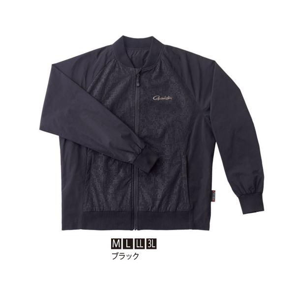 幅広いシーンで着用 ≪'20年9月新商品 ≫ ※ラッピング ※ がまかつ GM-3648 ついに再販開始 LLサイズ ブラック MA-1ジャケット