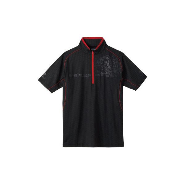 ≪'19年4月新商品!≫ サンライン テラックス クールドライ シャツ(半袖) SUW-5571CW ブラック Mサイズ