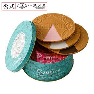 9张上野风月堂双层脆薄饼(罐子)