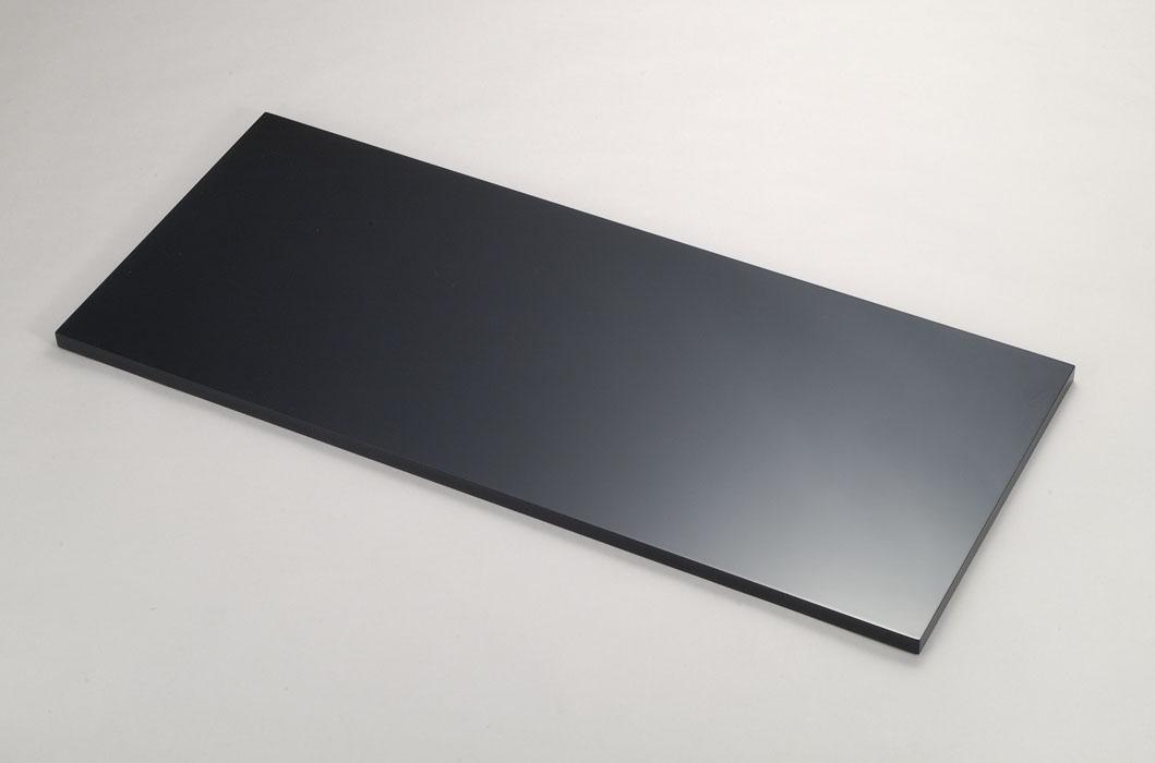 長板 風炉用(木製)黒真塗(うるし塗り)