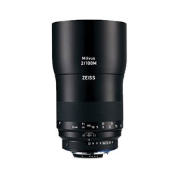 Carl Zeiss Milvus 2/100M ZF.2(CPU付きニコンAi-S)マウント ブラック【送料無料】