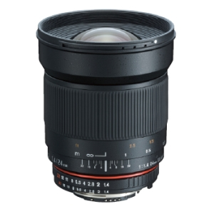 Samyang 24mm F1.4 Aspherical IF ニコン用【送料無料】