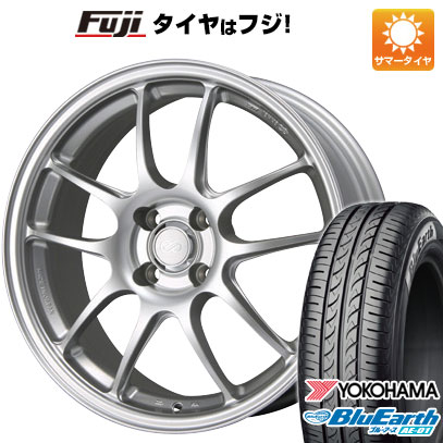 タイヤはフジ 送料無料 ソリオ(MA36S) ENKEI エンケイ PF01 5J 5.00-15 YOKOHAMA ブルーアース AE-01 165/65R15 15インチ サマータイヤ ホイール4本セット