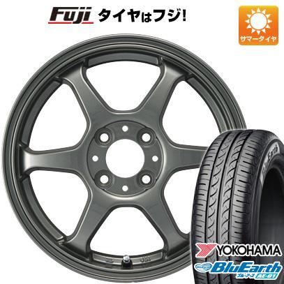 タイヤはフジ 送料無料 カジュアルセット タイプL 2. 4.5J 4.50-14 YOKOHAMA ブルーアース AE-01 165/55R14 14インチ サマータイヤ ホイール4本セット