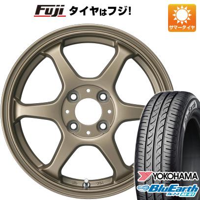 タイヤはフジ 送料無料 ソリオ(MA36S) カジュアルセット タイプL 2. 5J 5.00-15 YOKOHAMA ブルーアース AE-01 165/65R15 15インチ サマータイヤ ホイール4本セット