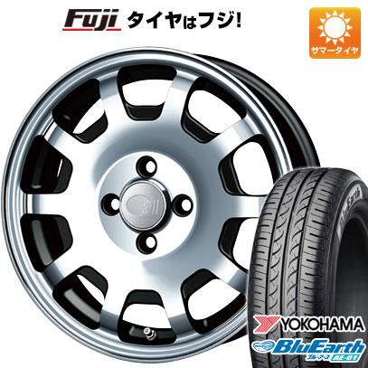 タイヤはフジ 送料無料 エブリイワゴン ENKEI エンケイ allシリーズ オールフォー 5J 5.00-15 YOKOHAMA ブルーアース AE-01 165/50R15 15インチ サマータイヤ ホイール4本セット