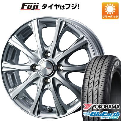 タイヤはフジ 送料無料 WEDS ウェッズ ジョーカー マジック 5J 5.00-13 YOKOHAMA ブルーアース AE-01 155/80R13 13インチ サマータイヤ ホイール4本セット