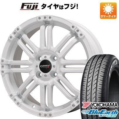 タイヤはフジ 送料無料 ソリオ(MA36S) BIGWAY ビッグウエイ B-MUD X(ホワイト) 4.5J 4.50-15 YOKOHAMA ブルーアース AE-01 165/65R15 15インチ サマータイヤ ホイール4本セット