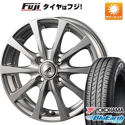 タイヤはフジ 送料無料 ソリオ(MA36S) INTER MILANO インターミラノ AZ-SPORTS EX-10 4.5J 4.50-15 YOKOHAMA ブルーアース AE-01 165/65R15 15インチ サマータイヤ ホイール4本セット