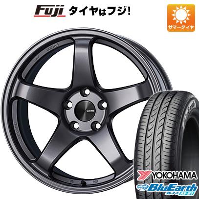 タイヤはフジ 送料無料 ソリオ(MA36S) ENKEI エンケイ PF05 5J 5.00-15 YOKOHAMA ブルーアース AE-01 165/65R15 15インチ サマータイヤ ホイール4本セット