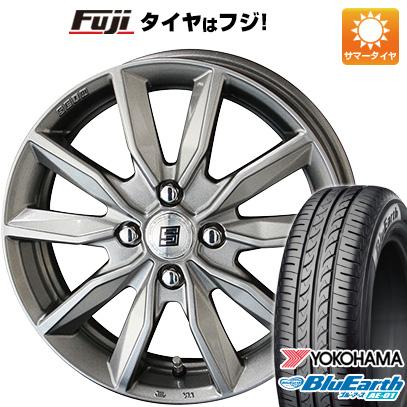 タイヤはフジ 送料無料 ソリオ(MA36S) KYOHO 共豊 キョウホウ ザインSV 4.5J 4.50-15 YOKOHAMA ブルーアース AE-01 165/65R15 15インチ サマータイヤ ホイール4本セット