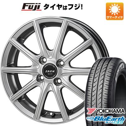 タイヤはフジ 送料無料 ソリオ(MA36S) MONZA モンツァ ZACK シュポルト01 4.5J 4.50-15 YOKOHAMA ブルーアース AE-01 165/65R15 15インチ サマータイヤ ホイール4本セット