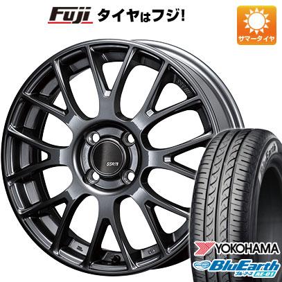 【送料無料】 165/65R15 15インチ SSR GTV04 5J 5.00-15 YOKOHAMA ヨコハマ ブルーアース AE-01 サマータイヤ ホイール4本セット