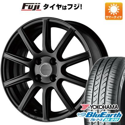 タイヤはフジ 送料無料 BRIDGESTONE ブリヂストン エコフォルム CRS/131 5.5J 5.50-15 YOKOHAMA ブルーアース AE-01F 185/65R15 15インチ サマータイヤ ホイール4本セット