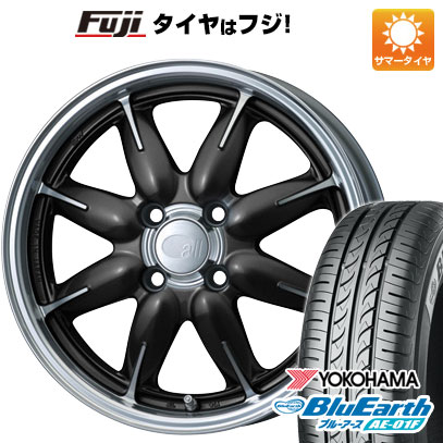 タイヤはフジ 送料無料 ENKEI エンケイ allシリーズ オールワン 6J 6.00-15 YOKOHAMA ブルーアース AE-01F 185/60R15 15インチ サマータイヤ ホイール4本セット