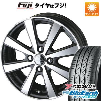 タイヤはフジ 送料無料 ソリオ(MA26S) KYOHO 共豊 スマック VI-R 4.5J 4.50-14 YOKOHAMA ブルーアース AE-01F 165/70R14 14インチ サマータイヤ ホイール4本セット