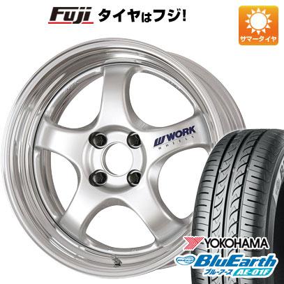 タイヤはフジ 送料無料 WORK ワーク マイスター S1R 6.5J 6.50-16 YOKOHAMA ブルーアース AE-01F 185/55R16 16インチ サマータイヤ ホイール4本セット