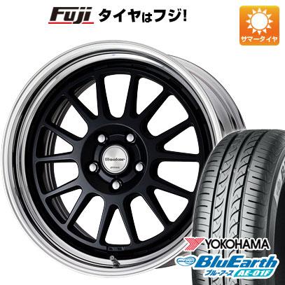 タイヤはフジ 送料無料 WORK ワーク シーカー FX 6.5J 6.50-16 YOKOHAMA ブルーアース AE-01F 185/55R16 16インチ サマータイヤ ホイール4本セット