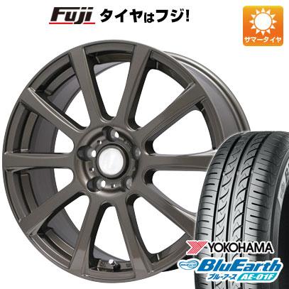 タイヤはフジ 送料無料 BRANDLE ブランドル 565Z 6.5J 6.50-16 YOKOHAMA ブルーアース AE-01F 205/60R16 16インチ サマータイヤ ホイール4本セット