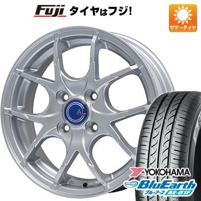 タイヤはフジ 送料無料 BRANDLE ブランドル M69 5.5J 5.50-15 YOKOHAMA ブルーアース AE-01F 175/65R15 15インチ サマータイヤ ホイール4本セット