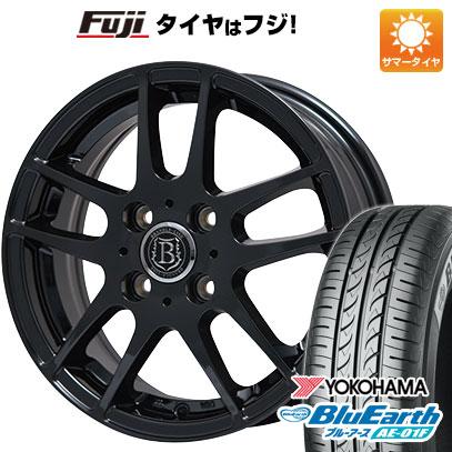 タイヤはフジ 送料無料 BRANDLE-LINE ブランドルライン アヴェルサ 5Z 5.5J 5.50-14 YOKOHAMA ブルーアース AE-01F 175/70R14 14インチ サマータイヤ ホイール4本セット