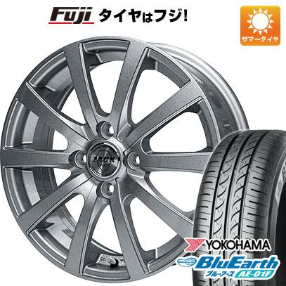 タイヤはフジ 送料無料 ソリオ(MA26S) MONZA モンツァ ZACK JP-110 10スポーク 4.5J 4.50-14 YOKOHAMA ブルーアース AE-01F 165/70R14 14インチ サマータイヤ ホイール4本セット