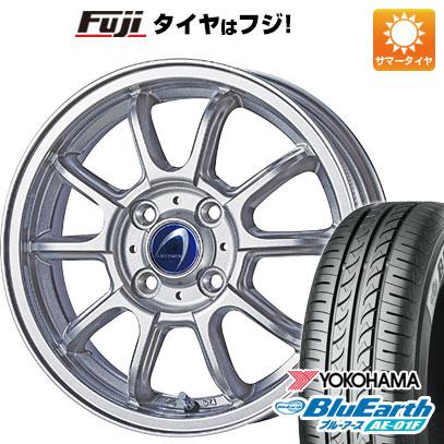 タイヤはフジ 送料無料 TECHNOPIA テクノピア アルテミス LSW 5.5J 5.50-14 YOKOHAMA ブルーアース AE-01F 175/70R14 14インチ サマータイヤ ホイール4本セット