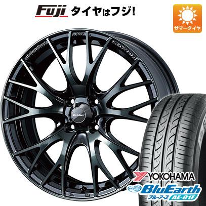タイヤはフジ 送料無料 WEDS ウェッズスポーツ SA-20R 6.5J 6.50-16 YOKOHAMA ブルーアース AE-01F 185/55R16 16インチ サマータイヤ ホイール4本セット