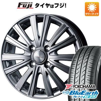 タイヤはフジ 送料無料 WEDS ウェッズ ヴェルバ テサリア限定 5.5J 5.50-14 YOKOHAMA ブルーアース AE-01F 175/70R14 14インチ サマータイヤ ホイール4本セット
