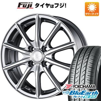 タイヤはフジ 送料無料 BRIDGESTONE ブリヂストン エコフォルム CRS/15 5.5J 5.50-15 YOKOHAMA ブルーアース AE-01F 175/65R15 15インチ サマータイヤ ホイール4本セット