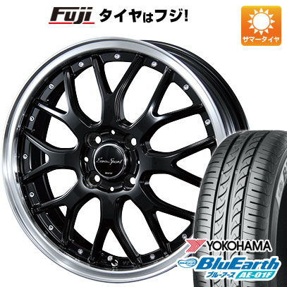 タイヤはフジ 送料無料 BLEST ブレスト ユーロスポーツ タイプ815 5.5J 5.50-15 YOKOHAMA ブルーアース AE-01F 175/65R15 15インチ サマータイヤ ホイール4本セット