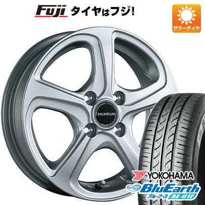 タイヤはフジ 送料無料 BRIDGESTONE ブリヂストン バルミナ ZR5 5.5J 5.50-15 YOKOHAMA ブルーアース AE-01F 175/65R15 15インチ サマータイヤ ホイール4本セット