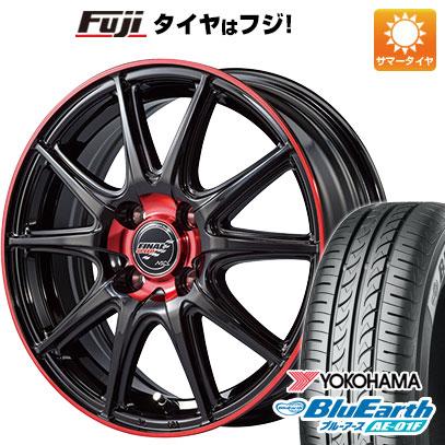 タイヤはフジ 送料無料 MID ファイナルスピード GR-ボルト 5.5J 5.50-15 YOKOHAMA ブルーアース AE-01F 185/60R15 15インチ サマータイヤ ホイール4本セット