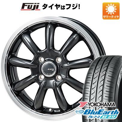8月 2・5・8日はポイント倍増! タイヤはフジ 送料無料 MONZA モンツァ JPスタイル バーニー 5.5J 5.50-15 YOKOHAMA ブルーアース AE-01F 175/65R15 15インチ サマータイヤ ホイール4本セット