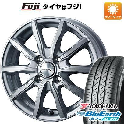 タイヤはフジ 送料無料 WEDS ウェッズ ジョーカー シェイク 5.5J 5.50-14 YOKOHAMA ブルーアース AE-01F 175/70R14 14インチ サマータイヤ ホイール4本セット
