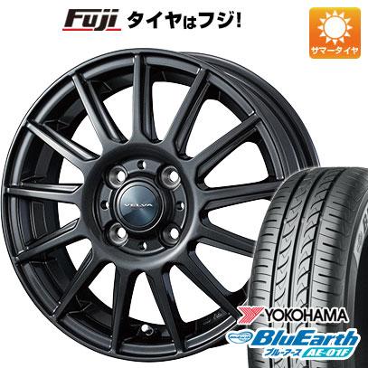 タイヤはフジ 送料無料 WEDS ウェッズ ヴェルバ イゴール 5.5J 5.50-14 YOKOHAMA ブルーアース AE-01F 175/70R14 14インチ サマータイヤ ホイール4本セット